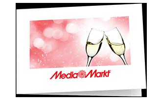 "Motief ""Champagne"" (te vouwen in 4)"